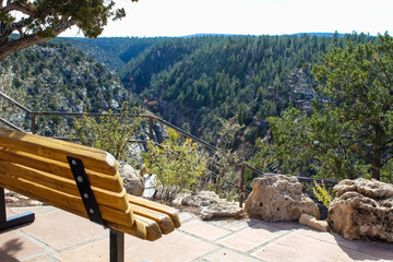 Fotobehang Route 66 Walnut Canyon National Monument