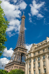 Recess Fitting Paris Eiffel tower in paris