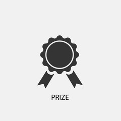 Prize vector icon illustration sign