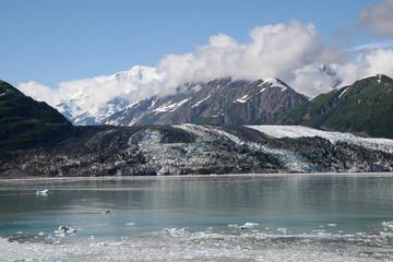 Printed kitchen splashbacks Glaciers Turner Glacier and surrounding mountains in Disenchantment Bay, Alaska.