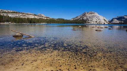 Tenaya Lake, Yosemite National Park, California