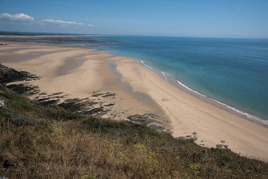 plongée plage baie carteret manche normandie