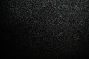 Leather texture abstract background, Genuine black leather Fototapete