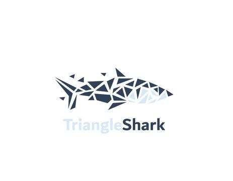 Triangle Shark logo