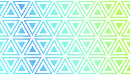 Fotobehang ZigZag Pattern With Polygonal Geometric Elements. Vector Illustration. Template For Wallpaper, Interior Design, Decoration, Scrapbooking Page. Gradient Background