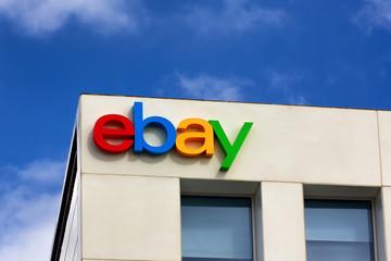 Ebay Corporate Headquarters and Trademark Logo