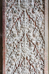 Ornamental Carvings at Angkor Wat
