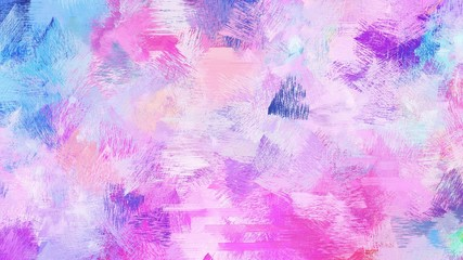 artistic illustration painting with thistle, royal blue and medium orchid colors. use it as creative background or texture