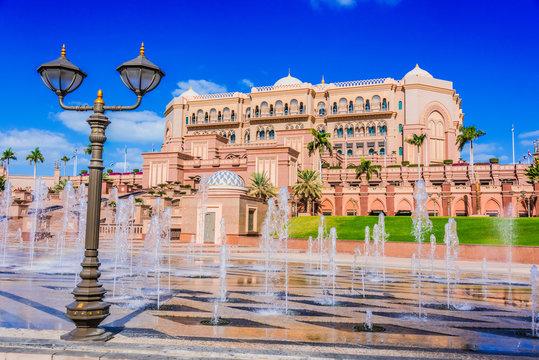 Hotel Emirates Palace in Abu Dhabi, United Arab Emirates