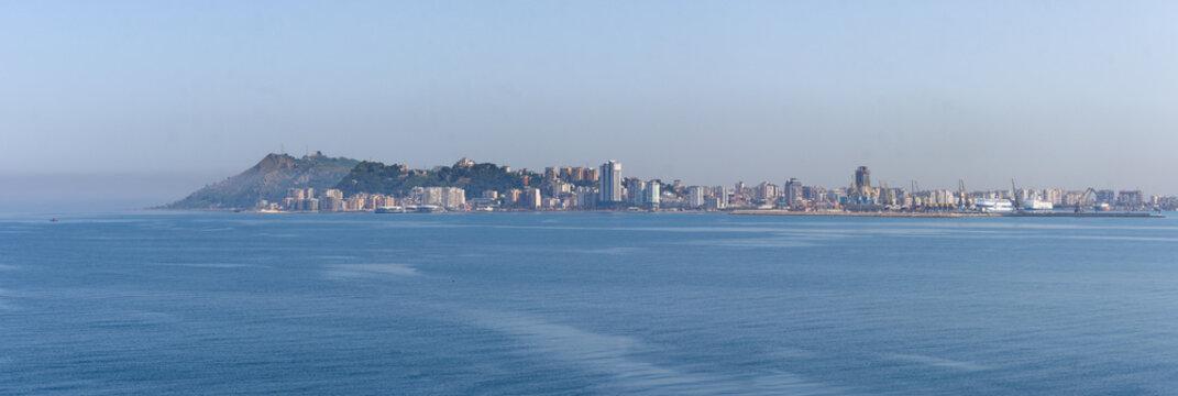 Ville de Durrës en Albanie