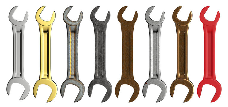 Set of wrench