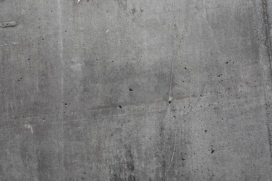 Grey textured concrete wall exterior