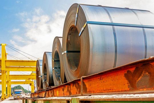 Steel coil transport