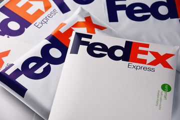 FedEx envelopes and parcels