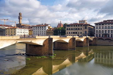 Florence and river Arno