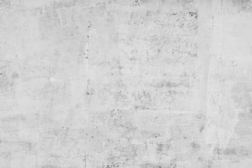 wall white background concrete, stone grunge surface dirty old rough abstract backdrop blank for design Wall mural