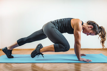 HIIT or High Intensity Interval Training Fototapete