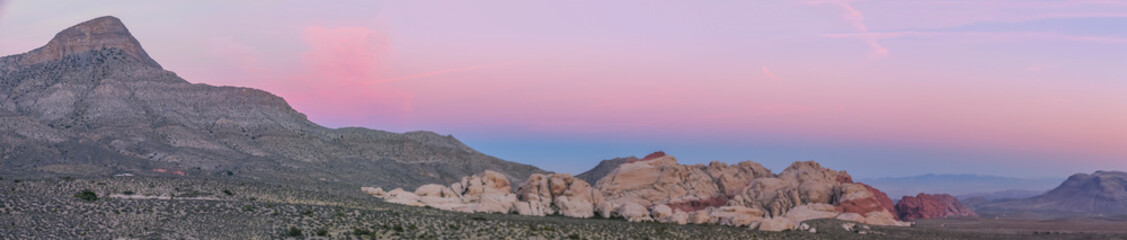 Foto op Plexiglas Purper Red Rock Canyon, Nevada