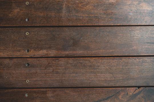 Timber decking floor background texture.