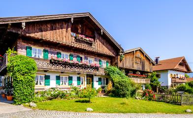 Wall Mural - old bavarian farmhouse