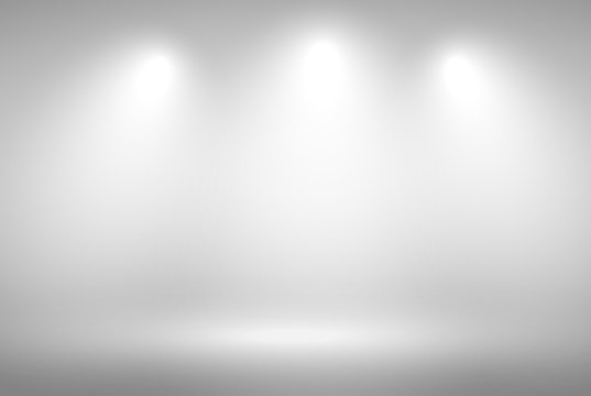 Abstract gray background. Grey gradient background blank trade show booth for designers. Background empty room with space for your text and picture. vector eps10