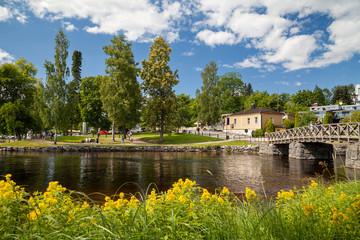 Savonlinna, Southern Savonia, Finland, summer