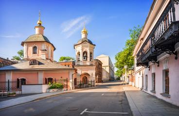 Церковь Сергия в Крапивенском переулке Sergievskaya church in...