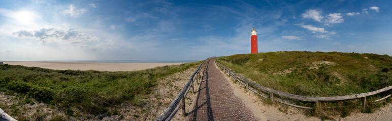 Leuchtturm auf Texel Wall mural