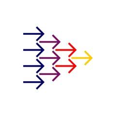 Arrows Logo Template Illustration Design. Vector EPS 10.