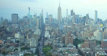 Fototapete - New York City skyline buildings