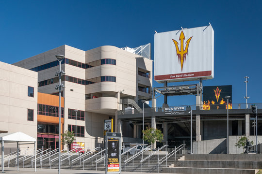 Frank Kush Sun Devil Stadium on the campus of Arizona State University