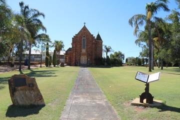 Way to Saint Mary's Catholic Church in Northampton, Western Australia Oceania