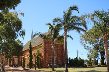 Saint Mary's Catholic Church in Northampton, Western Australia Oceania
