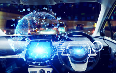 自動車とネットワーク
