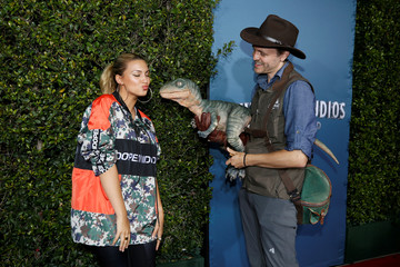 """""""Jurassic World - The Ride"""" grand opening celebration at Universal Studios Hollywood theme park in Universal City, California"""