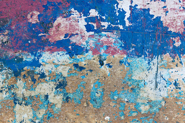 multicolor texture of painted  surface