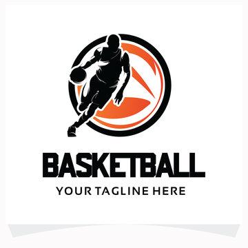 Basketball Sport Logo Design Template