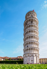 Leaning Tower, Piazza dei Miracoli, Pisa, Tuscany, Italy