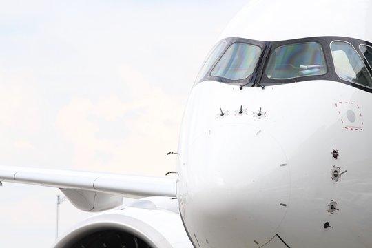 Flugzeugfront