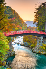 Wall Mural - Shinkyo Bridge, Nikko, Japan
