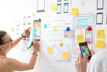 Web designer, user interface, development of applications for mobile phones, the creation of a prototype for smartphones.