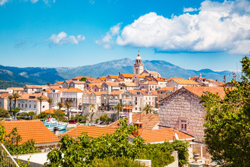 Town of Korcula, Dalmatia, Croatia