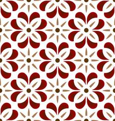 cute tile pattern vector