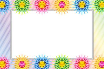 花,花柄,フラワー,ベクター,バックグラウンド,壁紙,背景素材,枠,フレーム,額縁,写真枠,フォトフレーム,写真フレーム,写真スペース,ピクチャーフレーム,ピクチャースペース,余白,ホワイトスペース,ネームプレート,ネームカード,ネームタグ,名札,プライスカード,プライスタグ,値札,無料素材,フリー素材,商用,