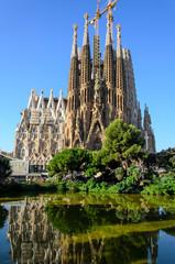Foto op Canvas Barcelona sagrada familia, barcelona, spain, unesco,