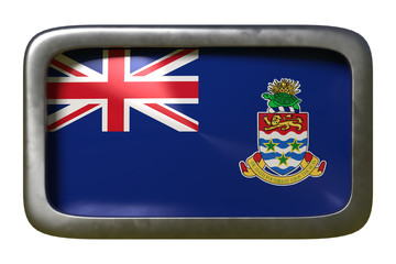 Cayman Islands flag sign