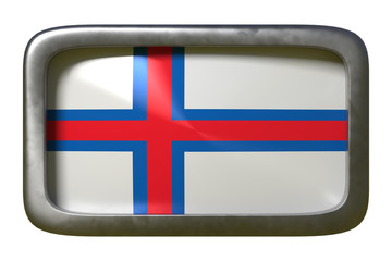 Faroe Islands flag sign
