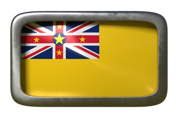 Niue flag sign