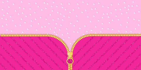 Pink and mint blue green background with little hearts  Candy shop