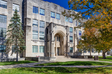 College Science Building and Jordan Hall